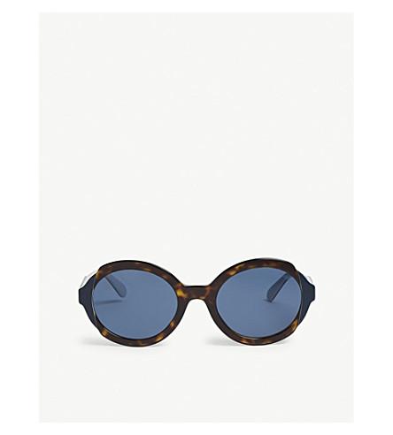 f0135202a7 ... PRADA 0Pr 17Us round sunglasses (Havana. PreviousNext