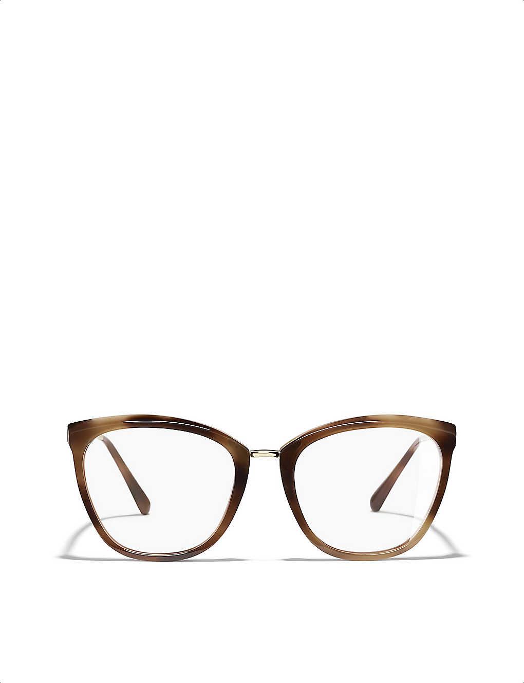 9403ce3c6a6 CHANEL - Havana 3381 cat eye glasses frames