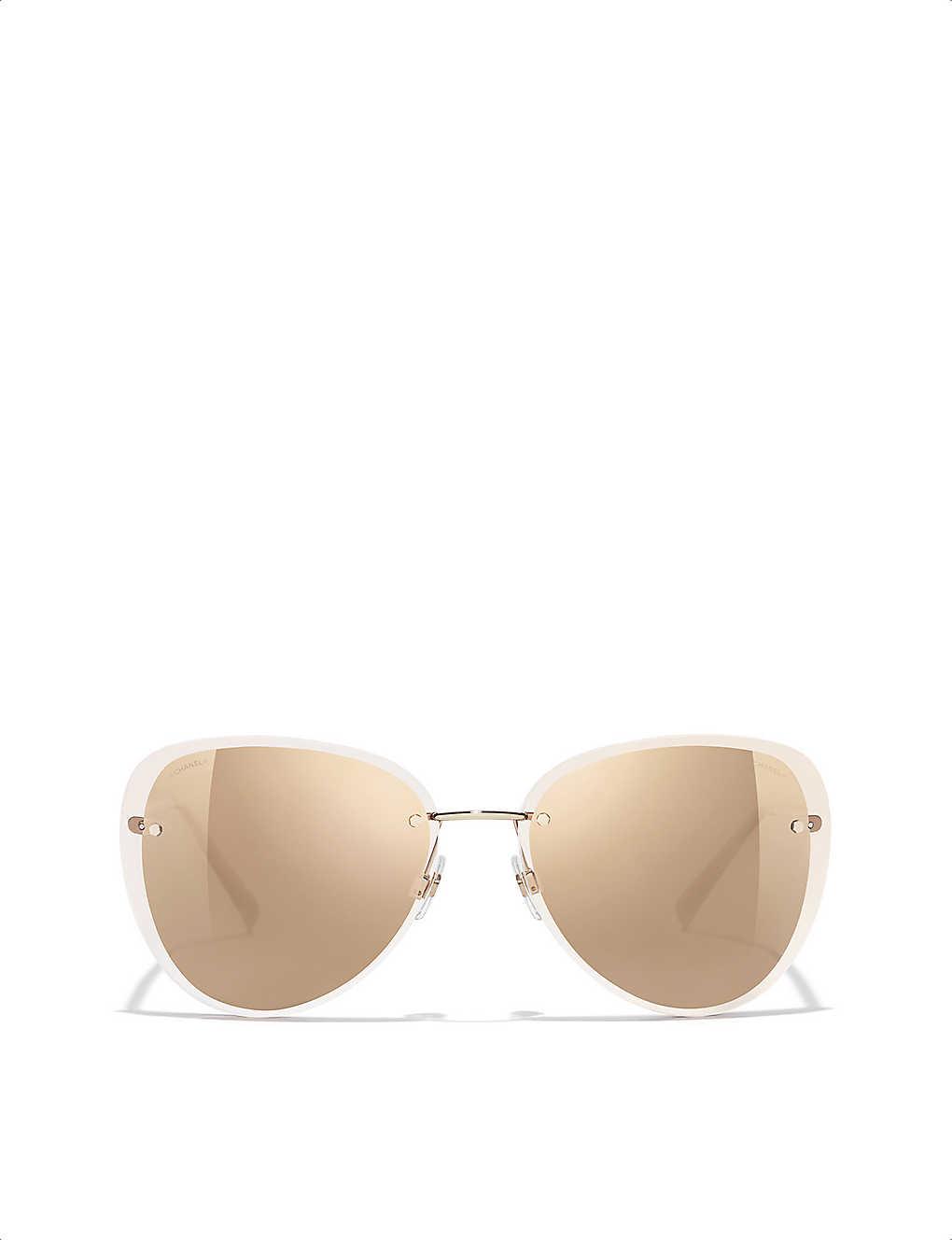 b3cbd5b43dc CHANEL - Pilot sunglasses