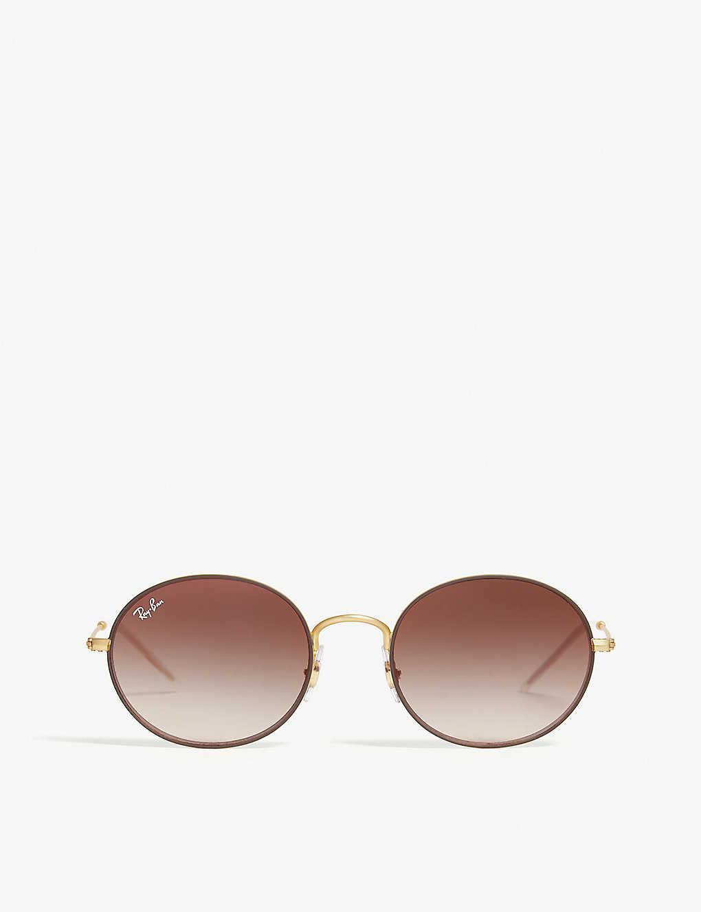 5f0fb8ebda RAY-BAN - RB3594 round-frame sunglasses