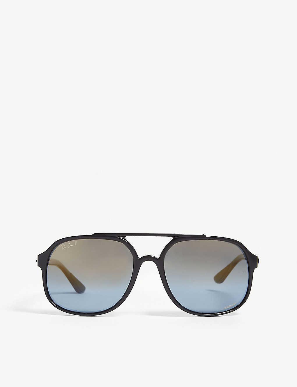 86e8f0d86c RAY-BAN - Square-frame nylon sunglasses
