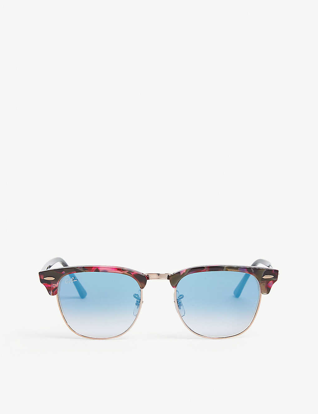 b77ab66c770 RAY-BAN - RB3016 Clubmaster square-frame sunglasses