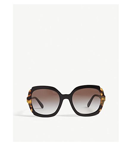 011d8858b1c ... PRADA PR16U square-frame sunglasses (Black. PreviousNext