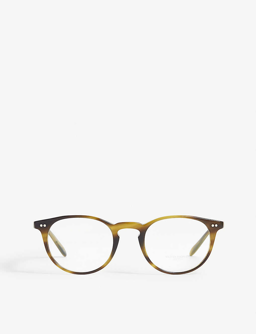 bb10a15885f OLIVER PEOPLES - Riley-R Round-frame optical glasses