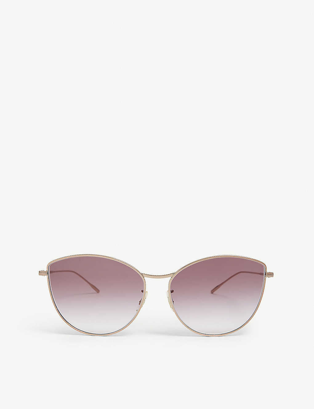 fa03dd67cd OLIVER PEOPLES - Rayette cat-eye metal sunglasses