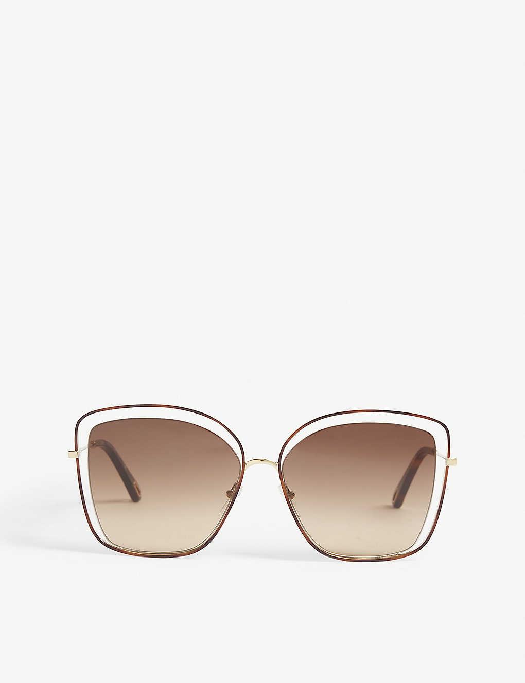 790914ab21 CHLOE - CE133S cat-eye-frame sunglasses