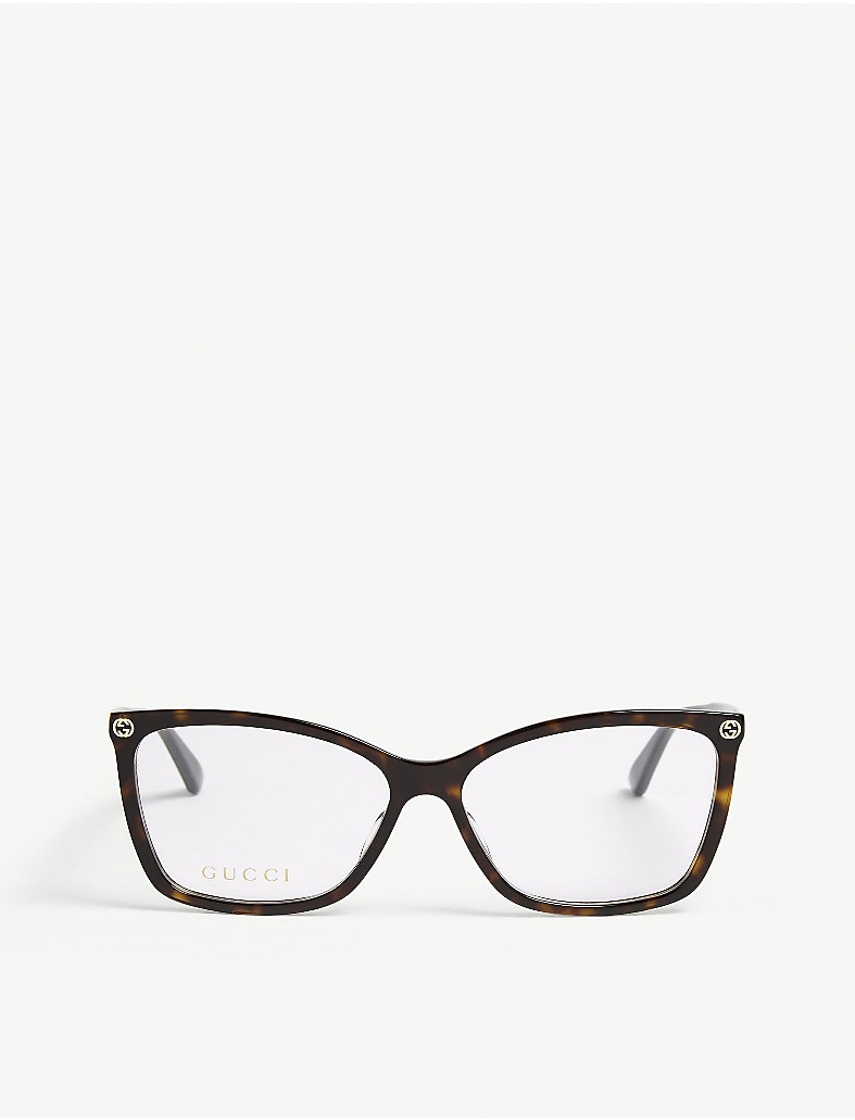 cfd9a0482d GUCCI - Gg0025o oval-frame glasses