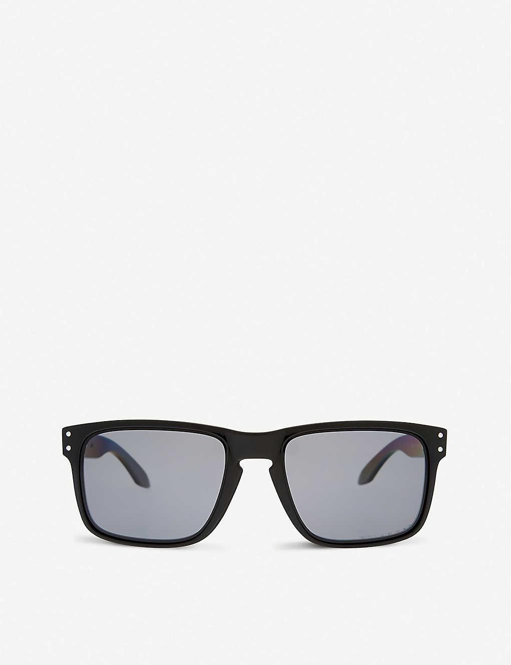 3afa50a4ae4cb OAKLEY - Holbrook polarized square sunglasses
