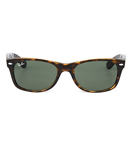 cd7f17e1d5 ... RAY-BAN Tortoiseshell wayfarer sunglasses RB2132 52 (Tortoise.  PreviousNext