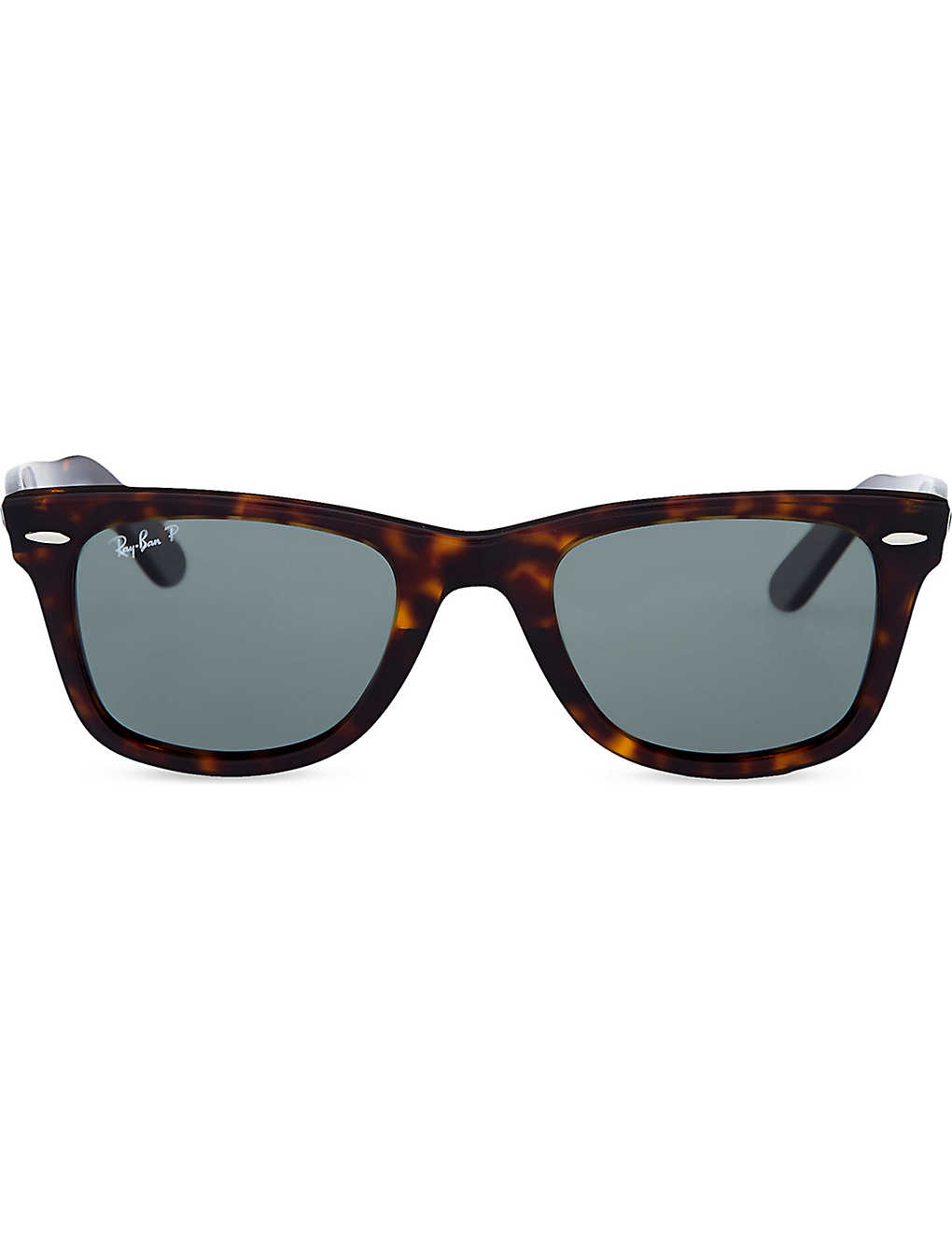 e34a3659c6 RAY-BAN - Unisex tortoise effect wayfarer sunglasses