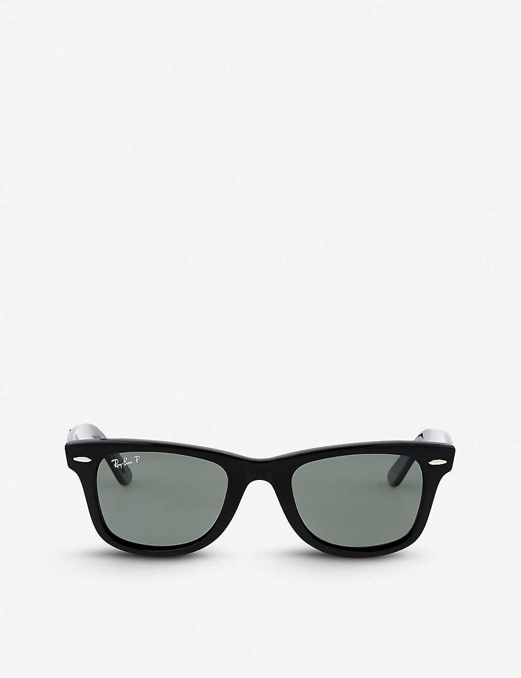 daaee2a533 RAY-BAN - Black thick frame wayfarer sunglasses RB2140