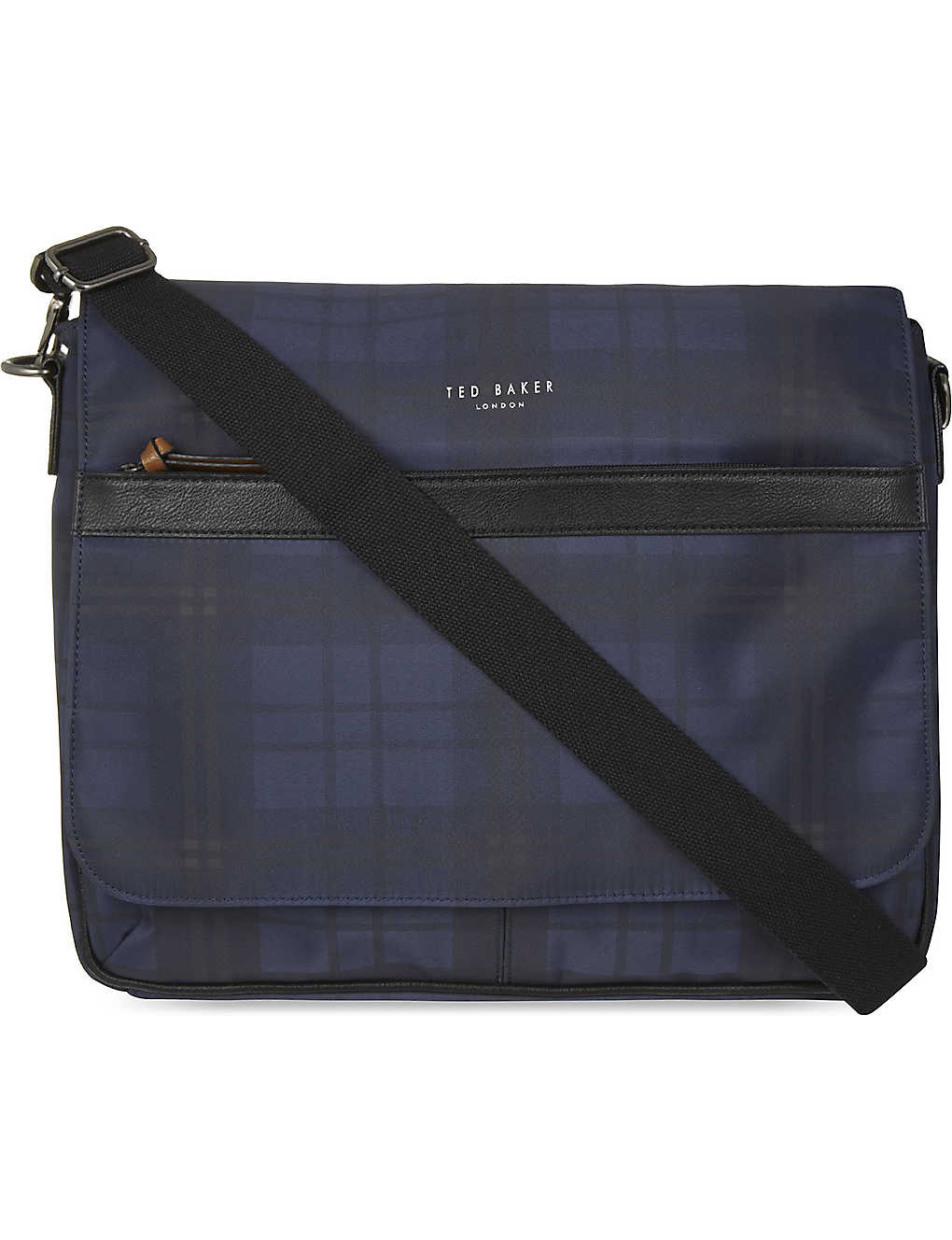 045a5b480244 TED BAKER - Kresent checked messenger bag