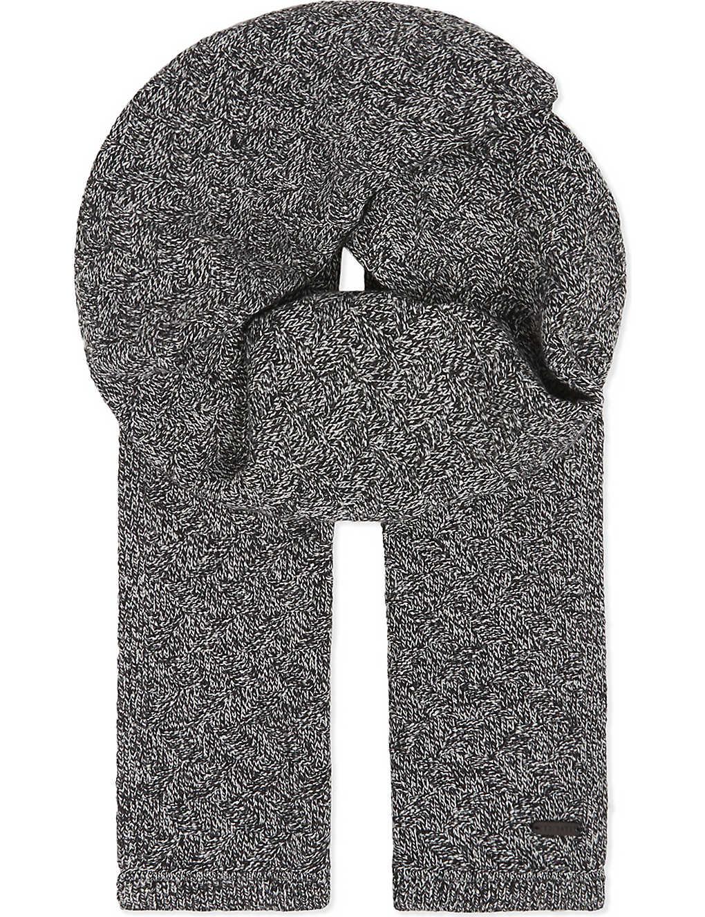 e7b83e3b4 TED BAKER - Herringbone wool scarf