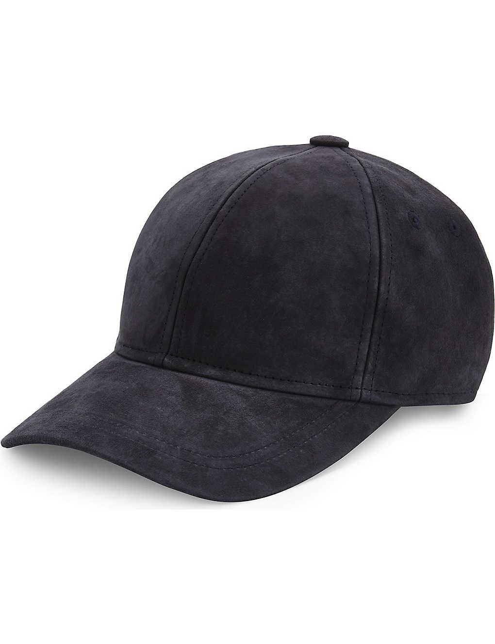ace2ec842ec TED BAKER - Sospeny suede baseball cap