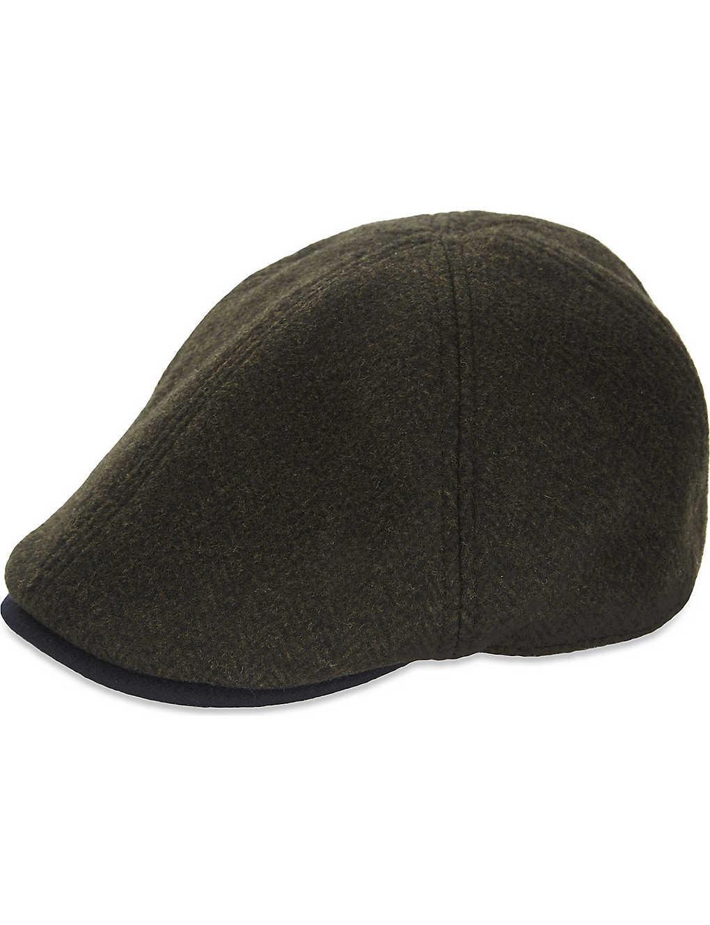 4ac4ef8e015 TED BAKER - Tiedee wool flat cap