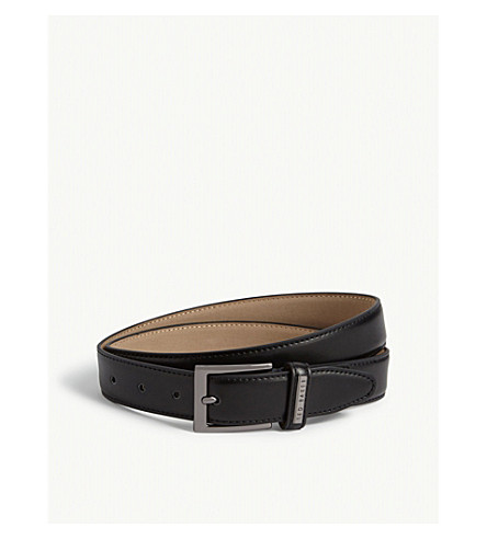 96ccfb771c23e ... TED BAKER Lizwiz leather belt (Black. PreviousNext