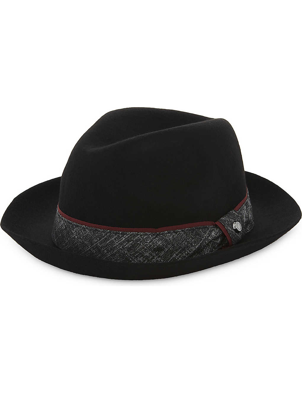 dc8fe0c2dc8 TED BAKER - Wool fedora hat