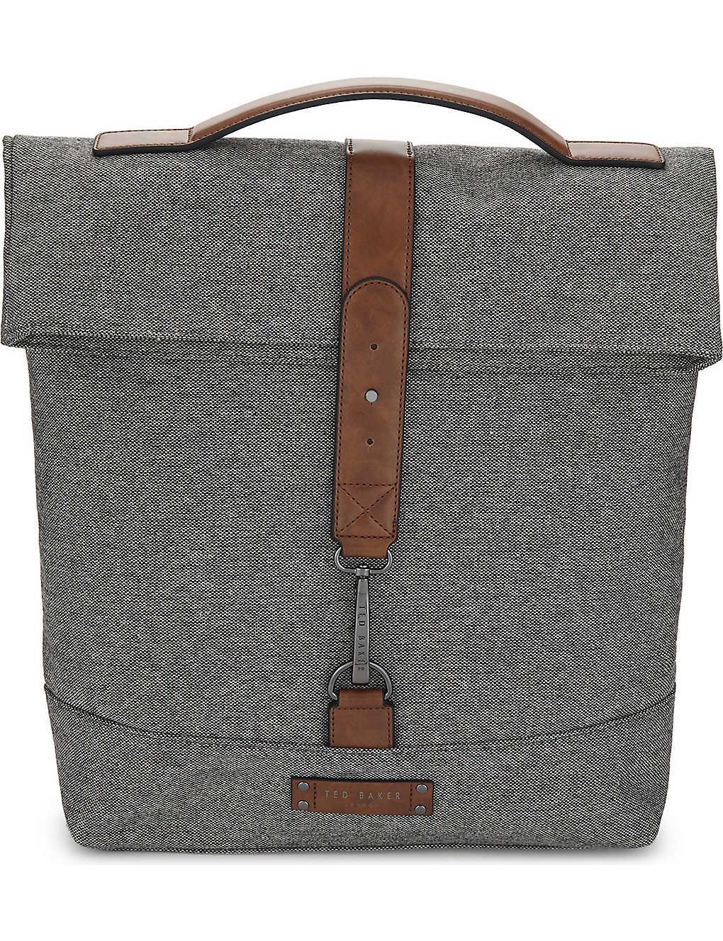 6319f091440fd TED BAKER - Germyn roll down backpack