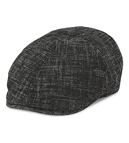 b878158e76e TED BAKER Olympic textured flat cap (Charcoal. PreviousNext premium  selection fb859 ...