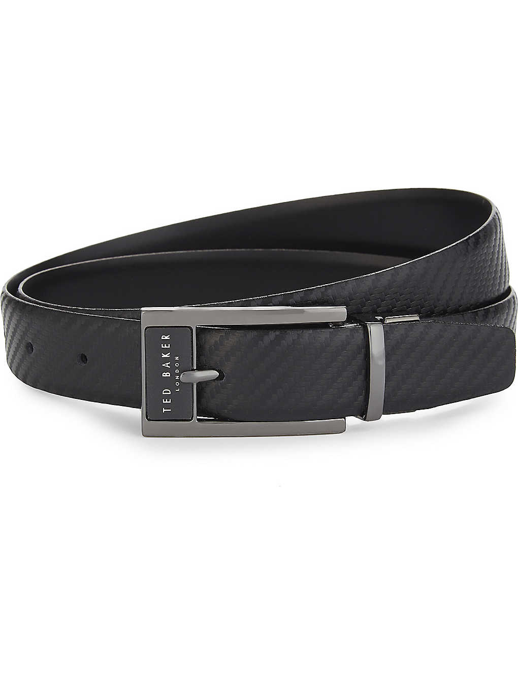 9a74ca29058d7 TED BAKER - Hibisis reversible leather belt