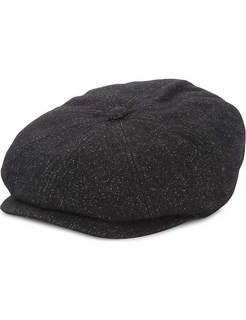 TED BAKER - Baker boy wool-blend cap  3451603ed06