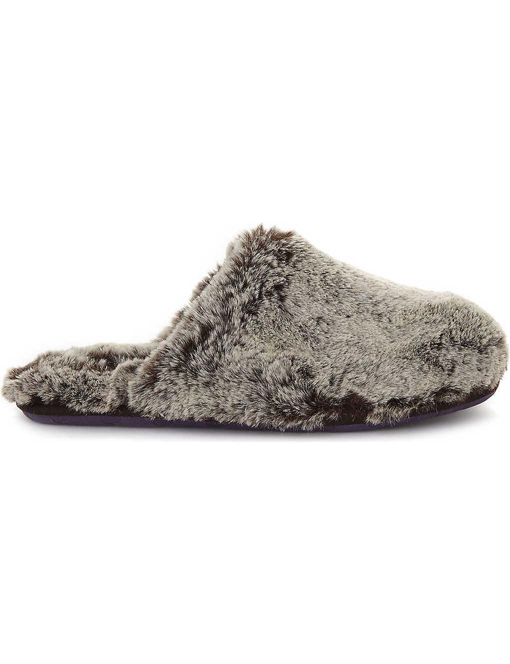 1959cfda67fdf0 TED BAKER - Nnyah faux-fur slippers