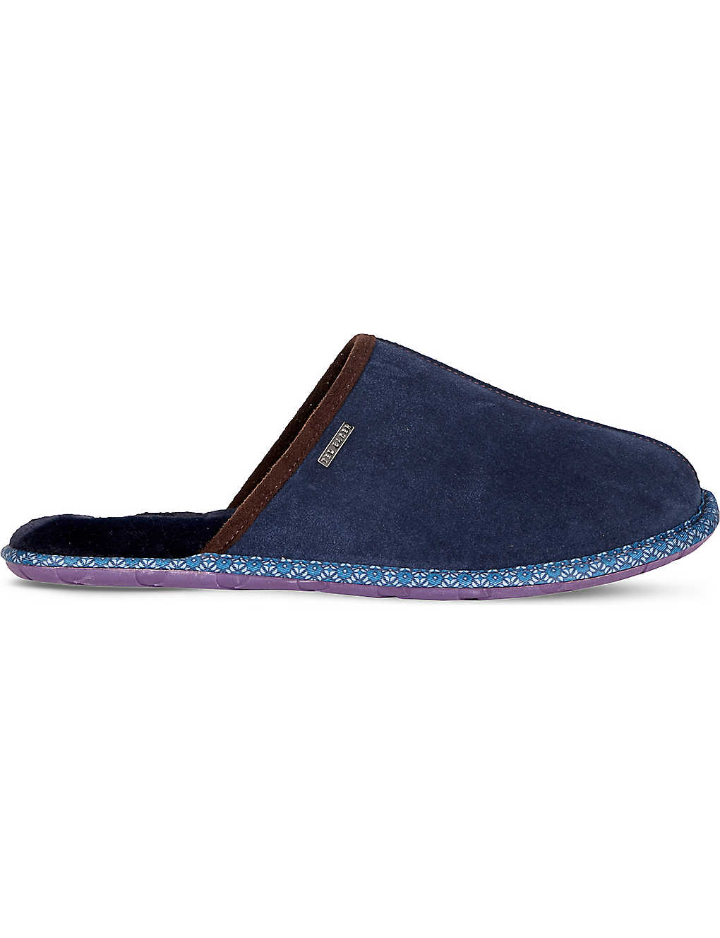 31123f76f TED BAKER - Mule suede slippers