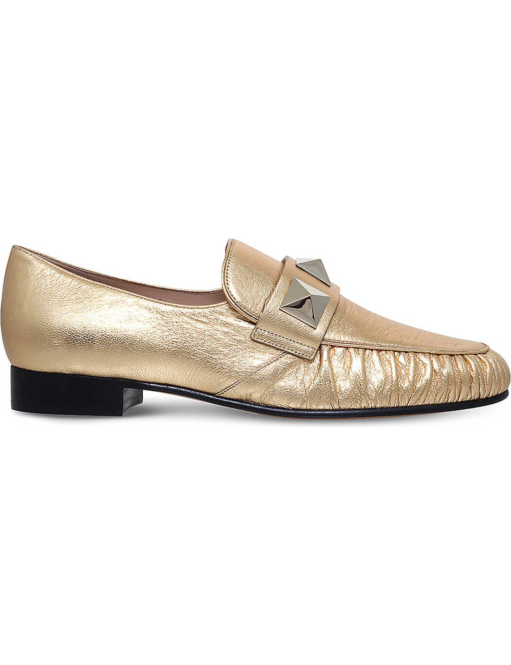 1c8d38288a4 VALENTINO - Rockstud leather loafers