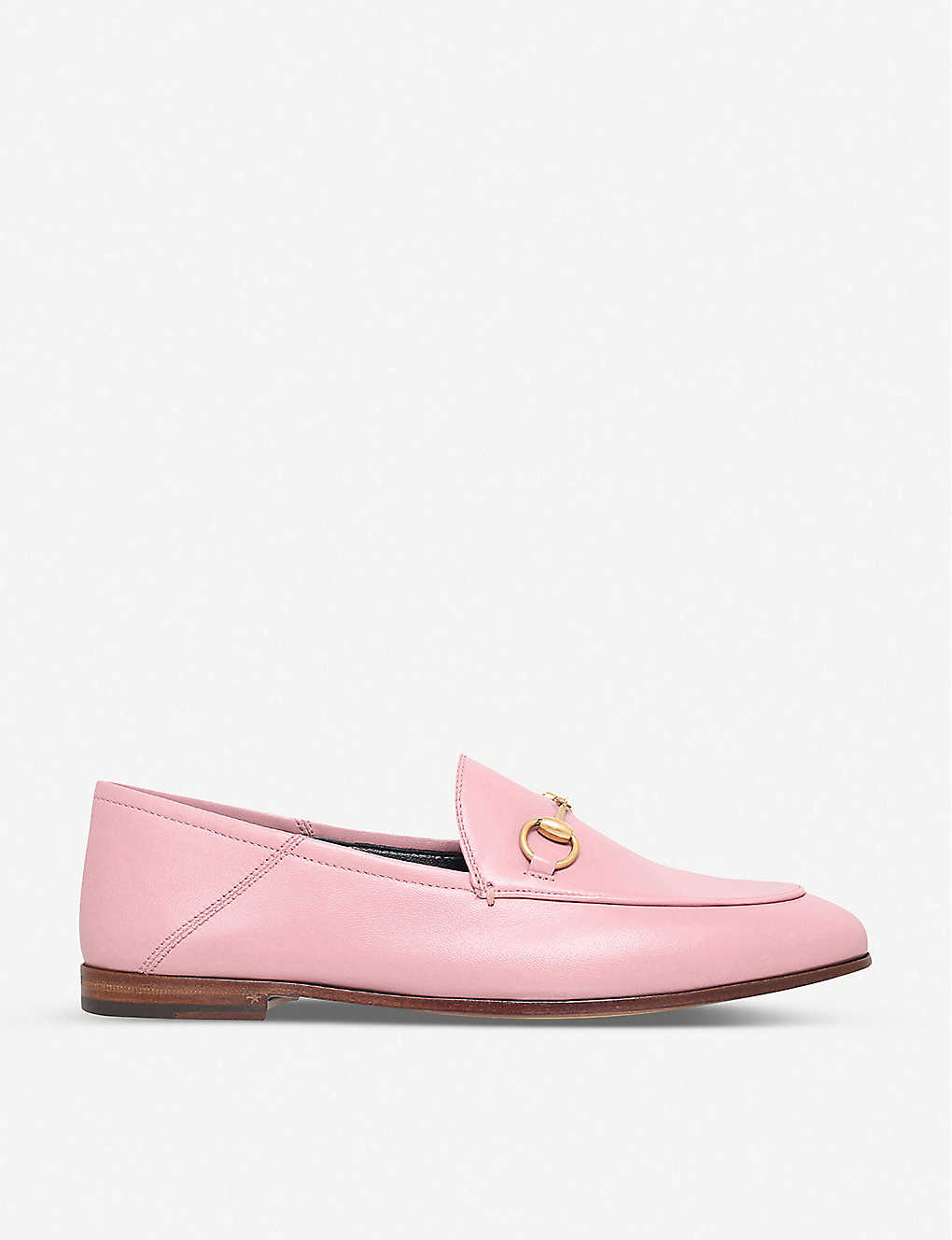 ab105931c5f GUCCI - Brixton leather loafers