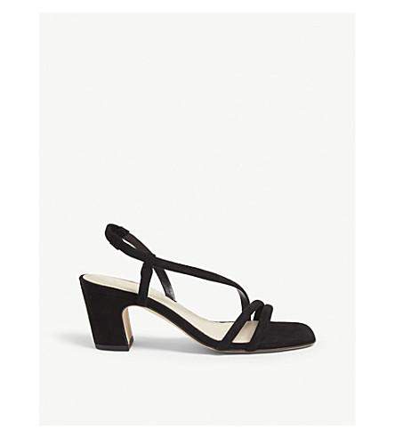 9d1ea884bb732 ... block heel sandals (Black. PreviousNext
