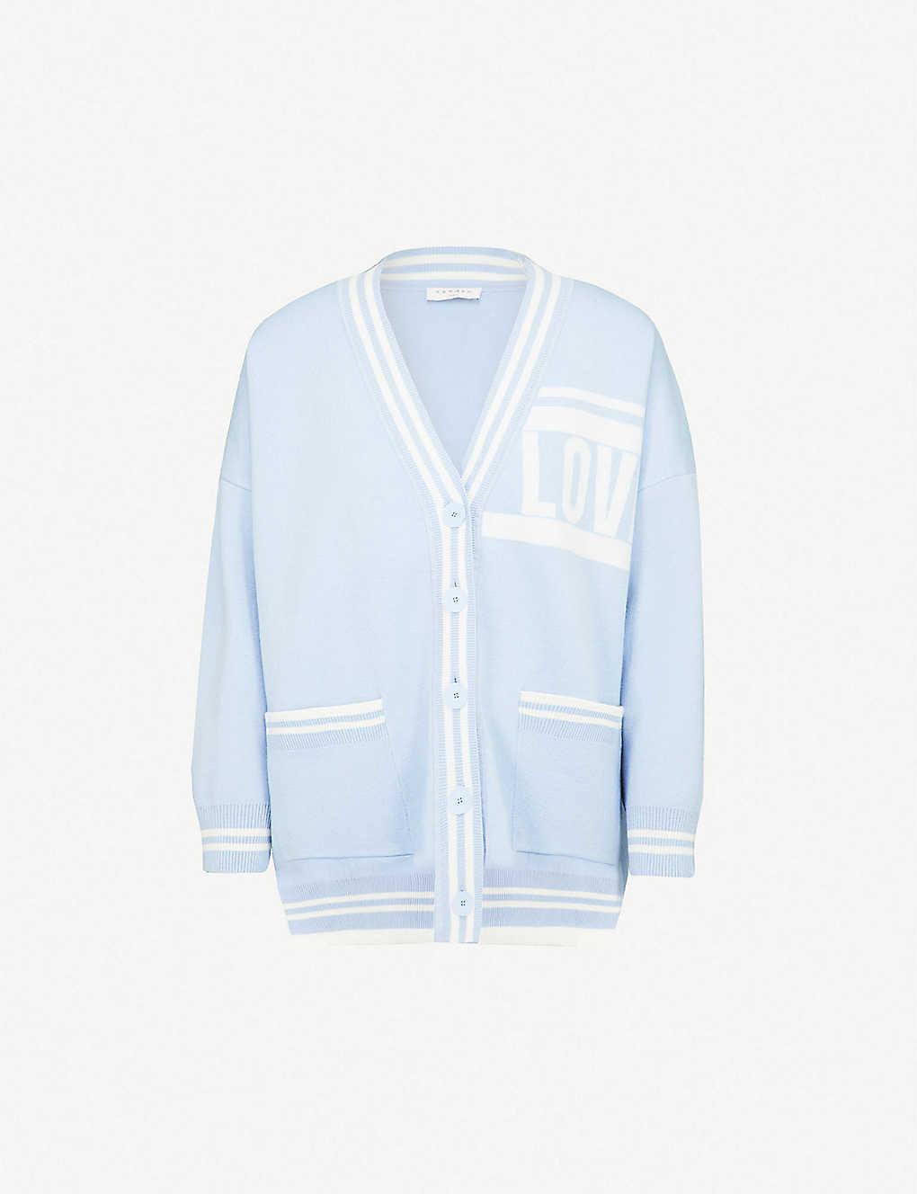 5f057560dff SANDRO -  Love  contrast-striped cardigan