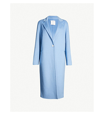 Brushed Wool Blend Coat by Sandro