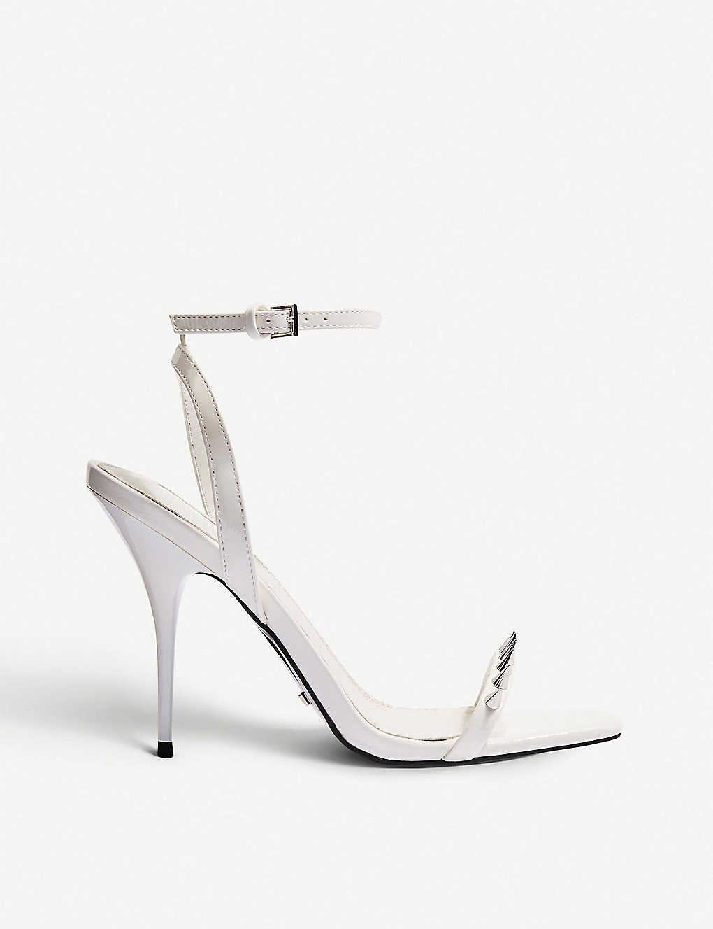 d7460bdbd80a TOPSHOP - Rica Two Part studded faux-leather sandals