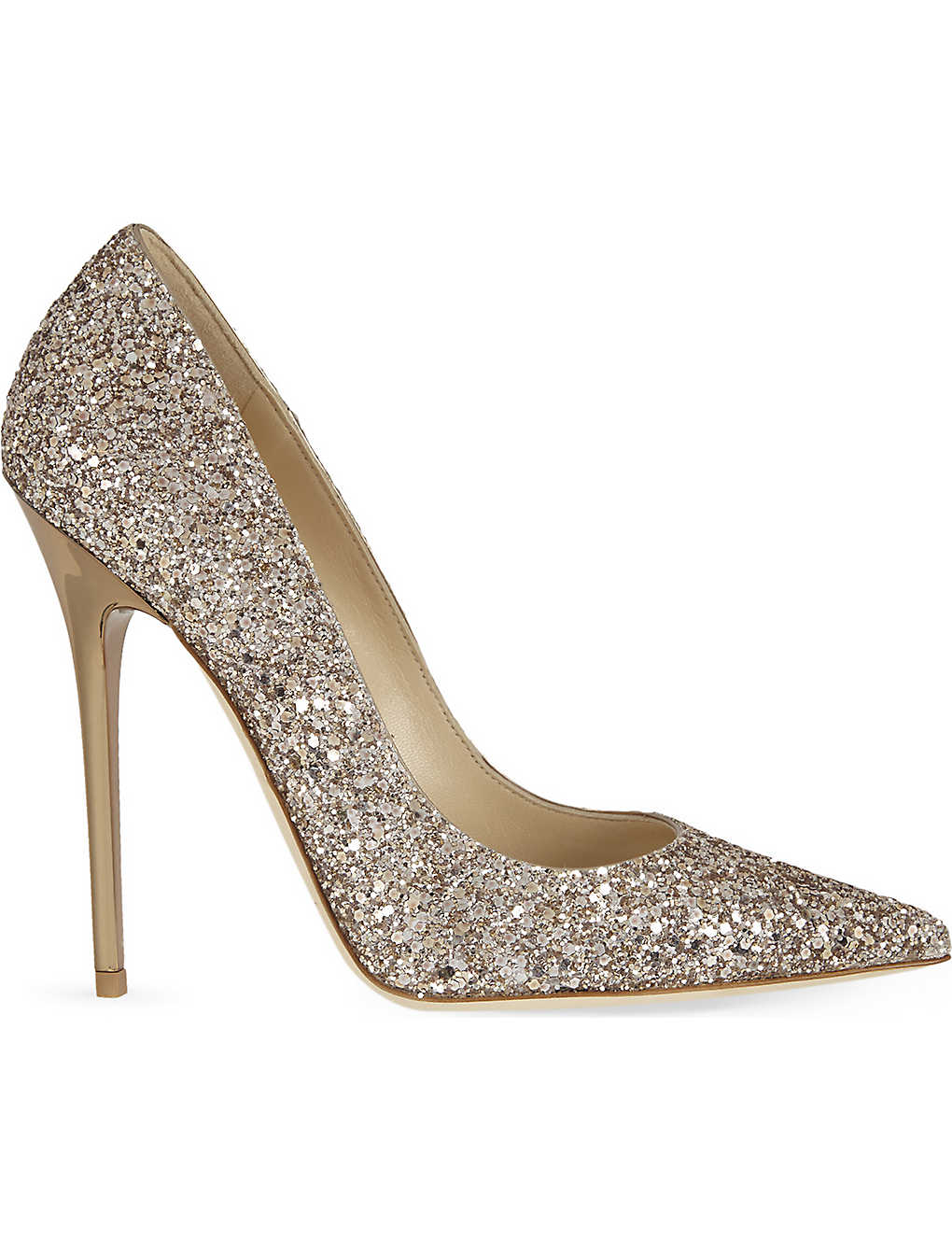 Jimmy Choo Anouk 120 Glitter Heeled Courts Fashion Shoes Gliter Heels No Recent Searches