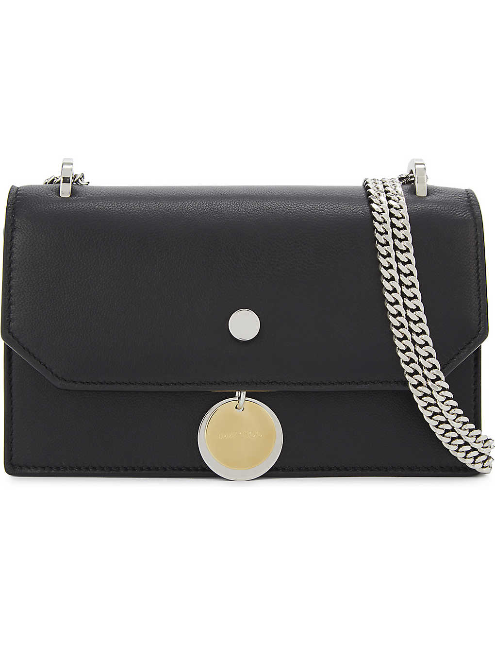 16b7005050c3 JIMMY CHOO - Finley leather cross-body bag