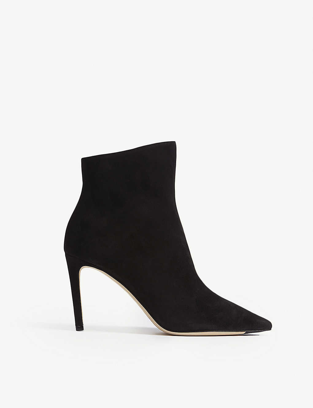 75defd259556 JIMMY CHOO - Helaine 85 suede ankle boots