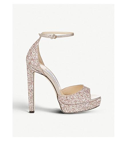bf9d6ee6a94 ... glitter platform sandals (Rosewood+mix. PreviousNext