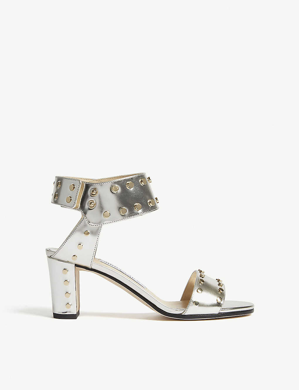 c7eb8ce9b861 JIMMY CHOO - Veto 65 mirror leather heeled sandals