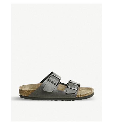 dba9f19c3640 ... BIRKENSTOCK Arizona Birko-Flor sandals (Pull+up+anthracite. PreviousNext
