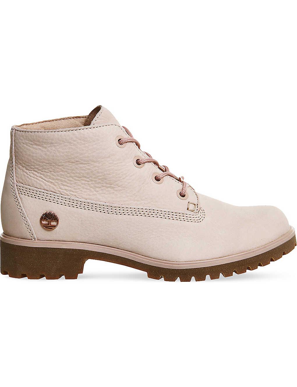 TIMBERLAND - Slim nellie nubuck leather chukka boots  b558d928eb3