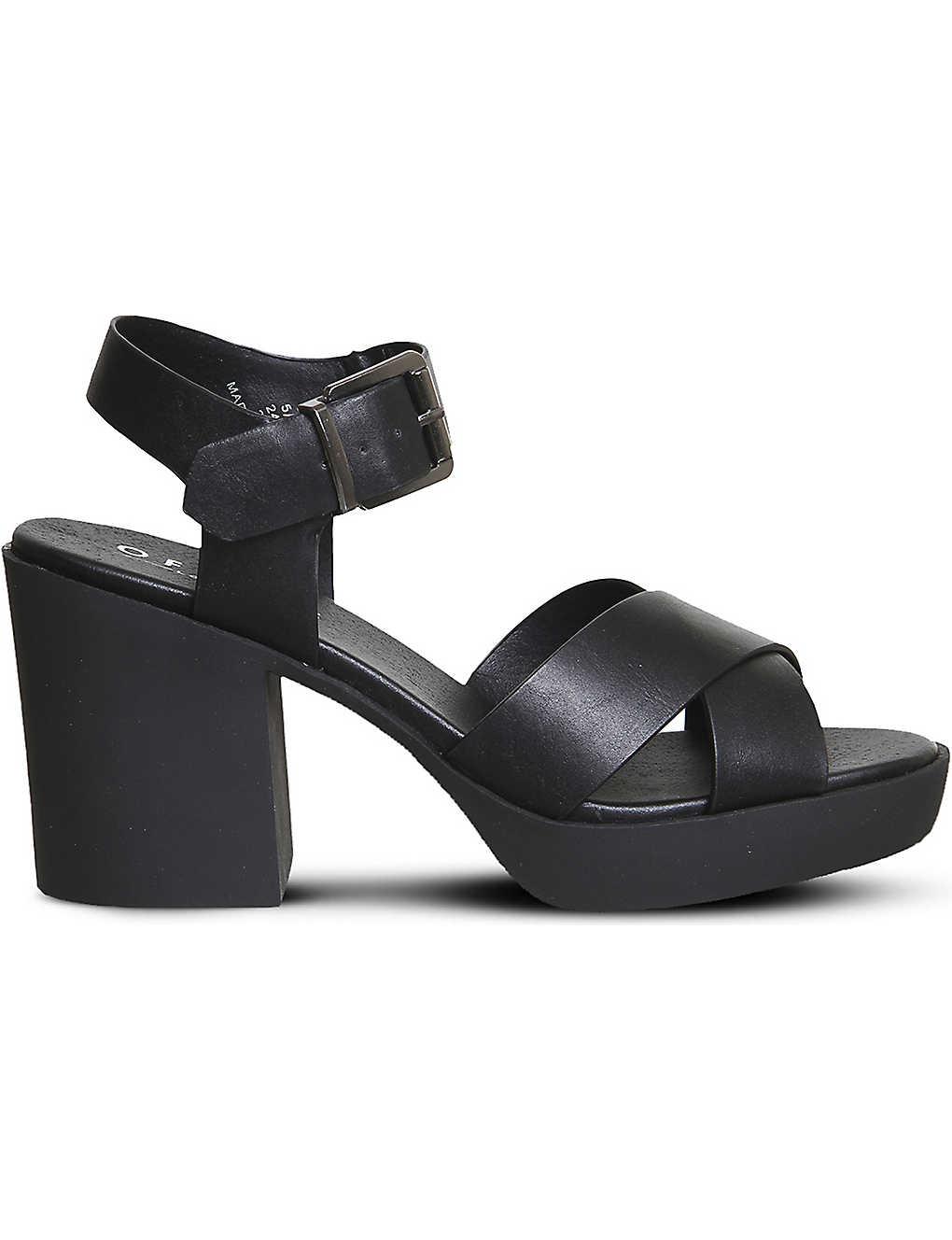 96f431c6e11d OFFICE - Marker chunky cross-strap sandals