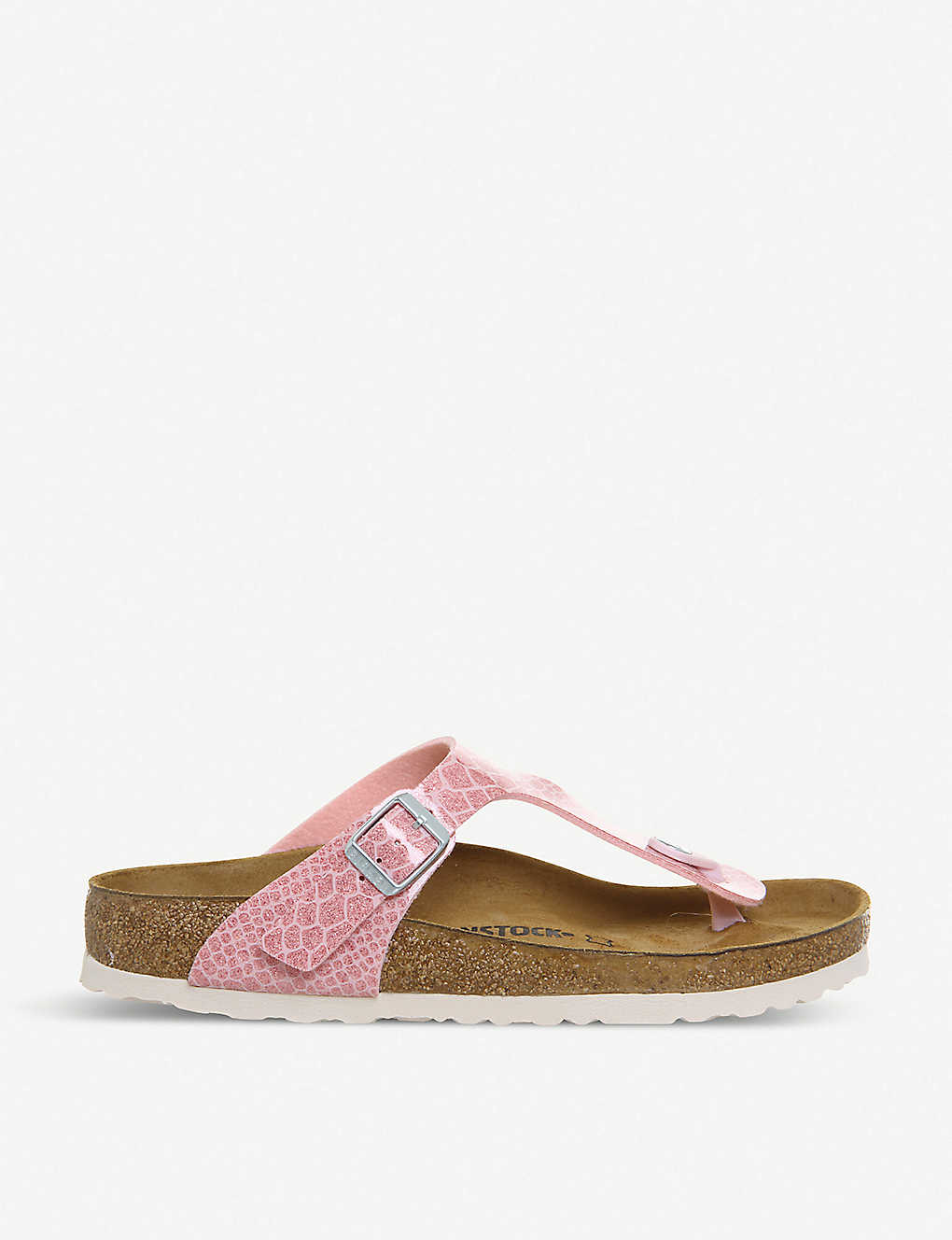 c171dd9ff1946 BIRKENSTOCK - Thong glittered faux-leather sandals