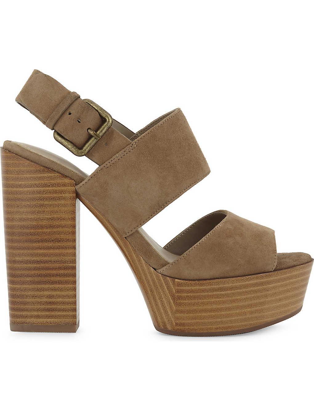 ee27ff71d4 ALDO - Maximoa suede platform sandals | Selfridges.com