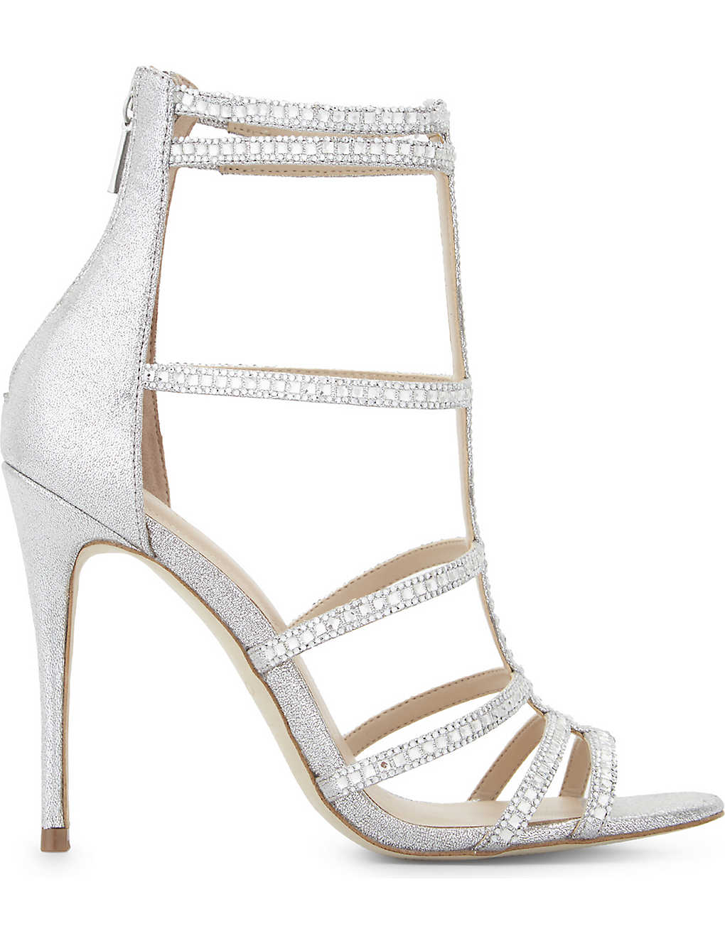 12f4e2a5ec3c ALDO - Mally caged heeled sandals