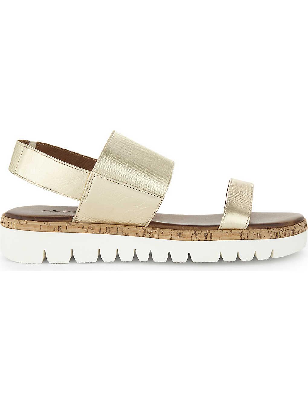 f1f072c95f59bb ALDO - Toni leather flatform sandals