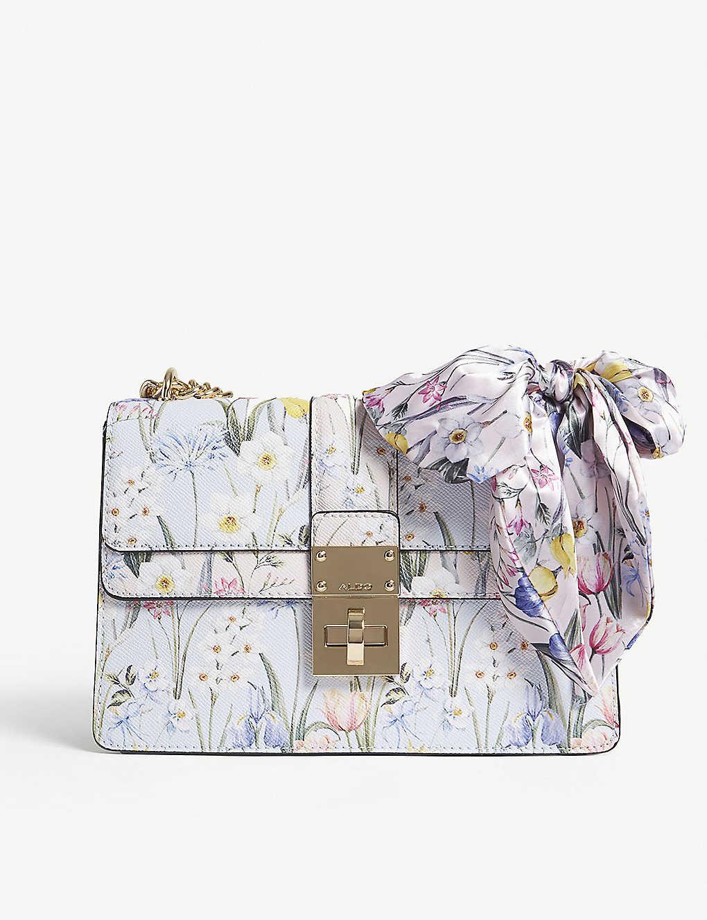 ALDO - Cerano floral-print shoulder bag  d8e8f2a6ff6bf