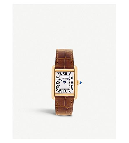 CARTIER - Tank Louis Cartier 18ct yellow gold watch  73022ca651cdf