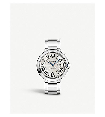 CARTIER - Ballon Bleu de Cartier stainless steel watch  915e5d2cbe53