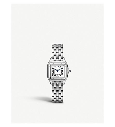 CARTIER - Panthère de Cartier small stainless steel watch ... 333ac60bf