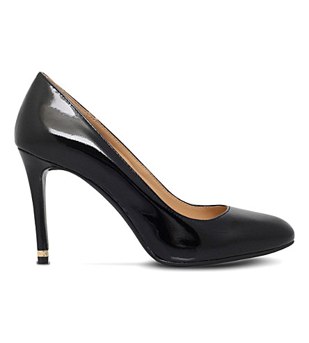 ade015a18157 ... MICHAEL MICHAEL KORS Ashby patent leather flex pumps (Black.  PreviousNext